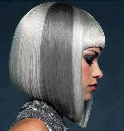 Окрашивание волос Pastel Color серебро