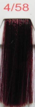Easy red 4/58 каштановый рыже-фиолетовый