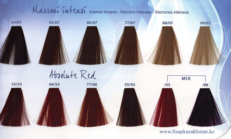 ABS    77/07 интенсивный коричневый