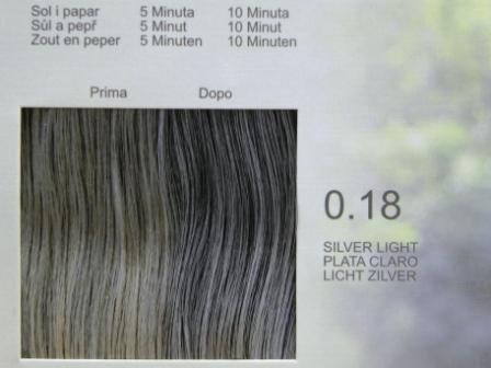 LISAP MAN 0.18 Светло-Серебристрый.